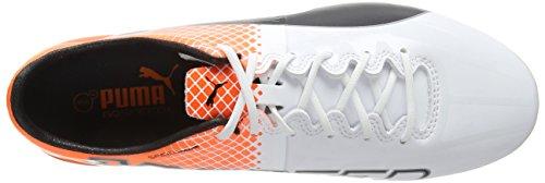 Puma Herren Evospeed 1.5 Tricks Fg Fußballschuhe Weiß (puma white-puma Black-SHOCKING Orange 05)
