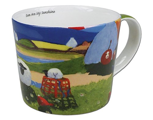 Thomas Joseph Kaffeetasse Schaf Ewe Are My Sunshine (in englischer Sprache)