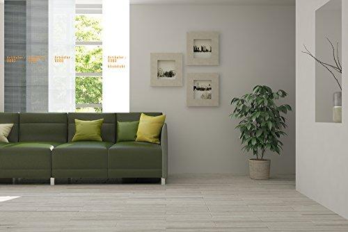 **NEUHEIT** Flächenvorhang Schiebevorhang in vielen Farben und Muster 50cm x 260cm mit Beschwerung, TOP PREIS