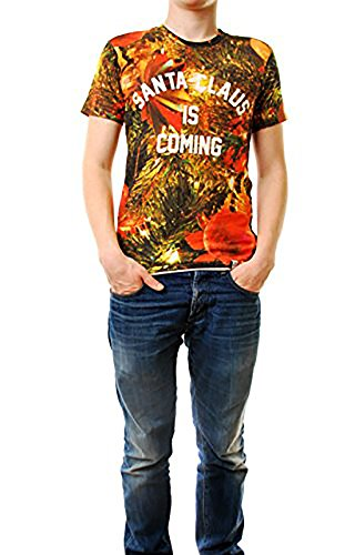 Eleven Paris Men SLONEL T-shirt Size Maniche corte girocollo stampato Multi Color M