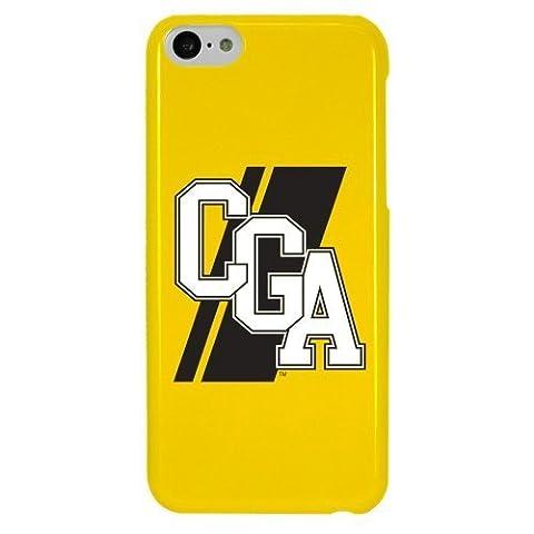 NCAA Coast Guard Academy Bears Coque pour iPhone 5C, jaune