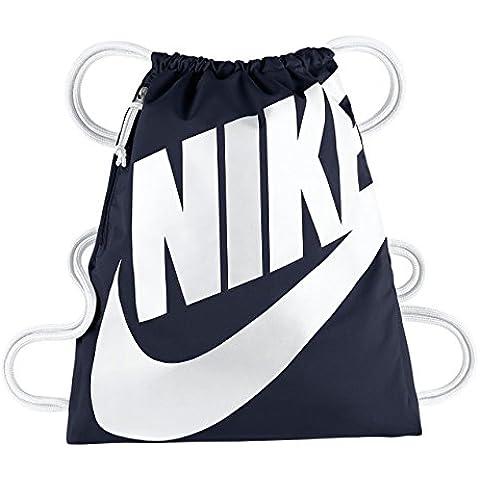 Nike Heritage Gymsack - Mochila para mujer, color azul, talla única