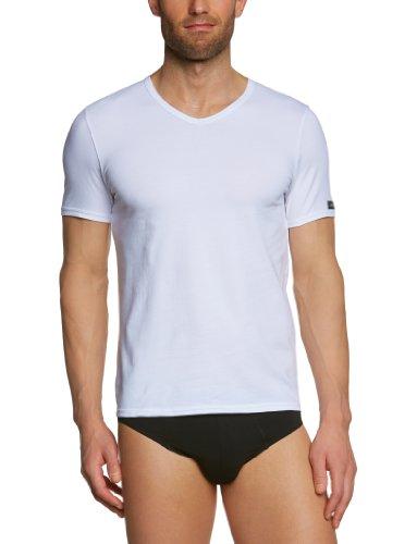 Bruno Banani Herren T-Shirt Regular Fit 2204-9870 1 Weiß (1 weiß)