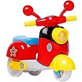 AmaMary Motorrad zurückziehen, Mini Pull Zurück Motorrad Sammlung Modell Diecast Motorrad Für Kinder Jungen Mädchen Farbe Zufällig
