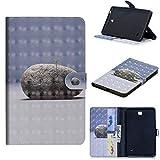 FNBK Hülle Kompatibel mit Samsung Galaxy Tab 4 7.0 T230 Ledertasche Flip Case Smart Slim Schutzhülle PU Lederhülle Business Tasche mit Standfunktion Klapphülle für Samsung Galaxy Tab 4 7.0 T230,Gras