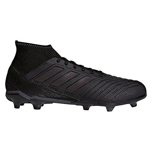 Adidas Fußballschuh Predator 18.3Ground Stollen Fußball Stiefel Erwachsener 45.3(Hartböden, Erwachsener, männlich, Sohle mit Dübel, schwarz, einfarbig) (Erwachsener Fußball-ausrüstung)