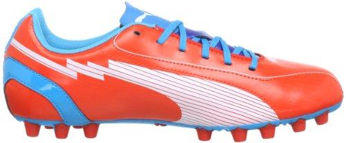 Puma evoSPEED 5 AG Jr 102596, Scarpe da calcio unisex bambino Rosso (Rot (orange.com-white-hawaiian 05))