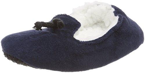 Nur Die Mädchen Füßlinge Kinder Mokassin, Blau (Royalblau 181), 25-28 (Herstellergröße: 27-28)