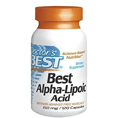 Doctor's Best Alpha-Lipoic Acid, 150 mg, 120 Capsules
