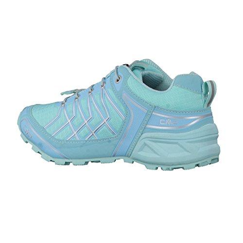 CMP Kinder Trail Running Schuhe Super X Trail 3Q95364 Verde Acqua