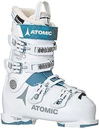 Atomic HAWX Magna 85W - Botas de esquí para Mujer, 23.5, White-Denim Blue