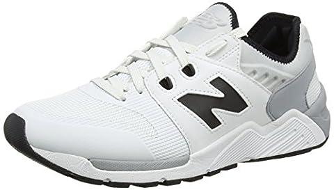 New Balance Herren 009 Sneakers, Weiß, 45