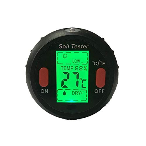 KCDE Raumthermometer Thermometer Hygrometer Test Meter Pen PH Tester Bodenazidität Feuchtigkeit Temperatur Photometrische, Multi-Funktions Fünf-In-One Feuchtigkeitserkennung