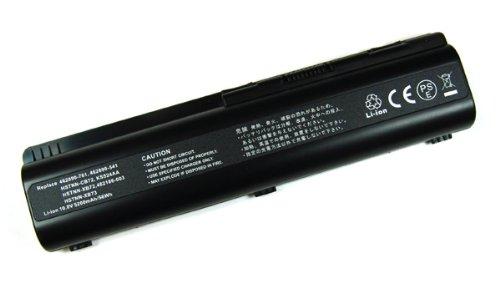 Akku, Ersatzakku mit 4400mAh !!! für Compaq Presario CQ40 CQ45 CQ50 CQ50-100 CQ60 CQ60-100 CQ60-200 CQ60-300 CQ70 CQ70-100 / HP G50 G50-100 G60 G60-100 G70 G70-100 / HP HDX16 HDX16t X16-1000 X16-1100 X16-1200 / HP Pavilion dv4-1000 dv4-1100 dv4-1200 dv5-1000 dv5-1100 dv5 dv6 dv6-1000 dv6-1100 G60-230US G70-250us Serien ohne Memory-Effekt Li-Ion PDA-Punkt