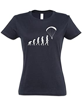 The Mermaid Conviction Paragliding Evolution Mujer Girlie Women T-Shirt Tamaños XS – 2XL