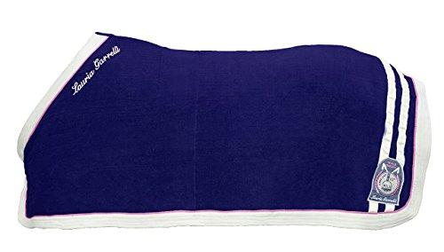 HKM Sports Equipment Lauria Garrelli Abschwitzdecke -Santa Rosa-, dunkelblau, 145