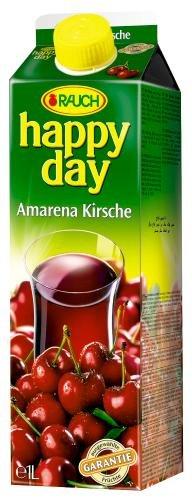 Rauch Happy Day Amarena Kirsch, 6er Pack (6 x 1,0 l Packung)