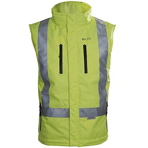 Abbigliamento da lavoro e divise Abbigliamento DBLADE Gilet Da Lavoro Softshell Jacket Vest Black Tessuto Elastico