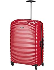 Samsonite Lite-Shock Spinner 4-Rollen Trolley 75 cm bright pink