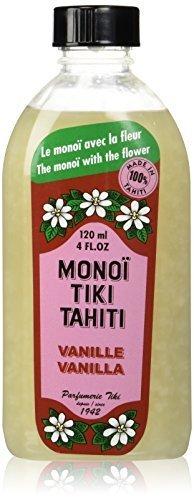 Monoi Tiare Tahiti Coconut Oil Vanilla -- 4 fl oz by Monoi Tiare Tahiti BEAUTY (English Manual)