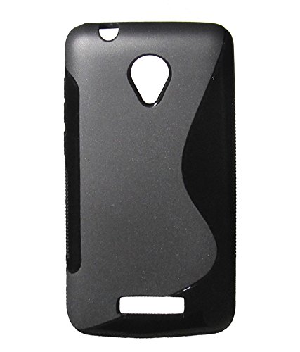 S Case Anti-skid Soft TPU Back Case Cover for Micromax Canvas Juice 2 AQ5001 (Black)  available at amazon for Rs.139
