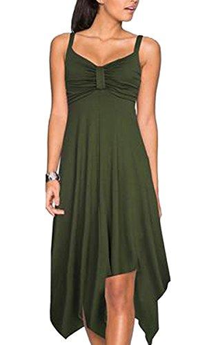 ECOWISH - Tailleur-jupe - Femme Armeegrün