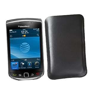 Blackberry Torch 9800 Etui cuir Housse Coque de protection Case