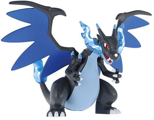 Bandai Pokemon Plastic Model Collection Select The Series Mega Charizard X by (Pokemon Glurak Figur)
