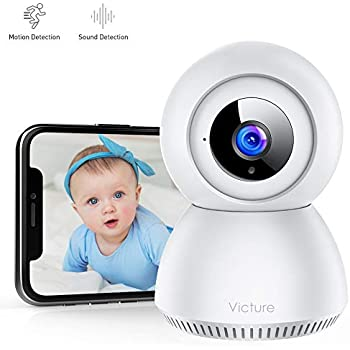 Victure 1080p Baby Monitor With Camera Fhd Wifi Ip Amazon