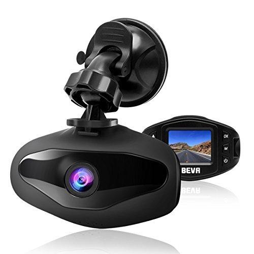 Auto Dash Cam FHD 1080P Mini Auto Kamera Video Recorder mit 120° Weitwinkelobjektiv Parkplatz Monitor Bewegungserkennung Loop-Aufnahme Nachtsicht G-Sensor von BEVA 120 Dvr-software
