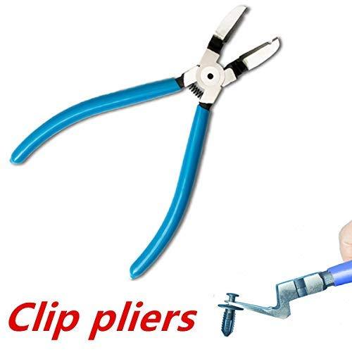 1 Stück Seitenschneider, Auto Automotive Push Pin Rivet Trim Clip Panel Körpersortimente Werkzeugzangen (JY-PA25 125 mm 5 Zoll) -