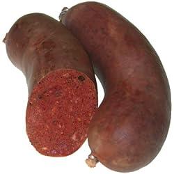 Blutwurst ohne Grieben 1/2 Stueck 250 gr.
