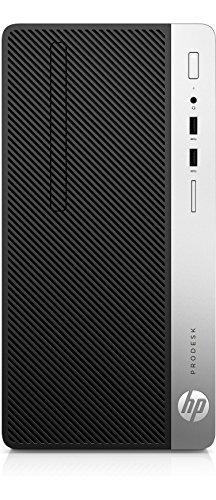 HP ProDesk 400 G4 3.6GHz i7-7700 Micro Torre Negro, Plata PC - Ordenador de sobremesa (3,6 GHz, 7ª generación de procesadores Intel® Core™ i7, 16 GB, 1000 GB, DVD Super Multi, Windows 10 Pro)