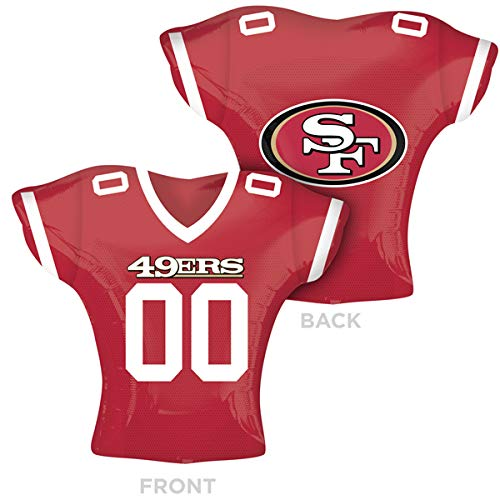2619101 San Francisco 49ers Jersey Supershape, 61 cm farbenreiche ()