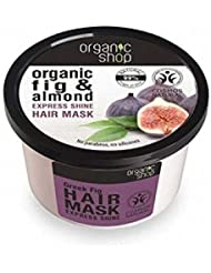 ORGANIC SHOP Hair Mask Fig and Almond - Restructuring Care for Dry Hair & Split Ends - Deeply moisturizing - Nickel Tested & Vegan - 250 ml