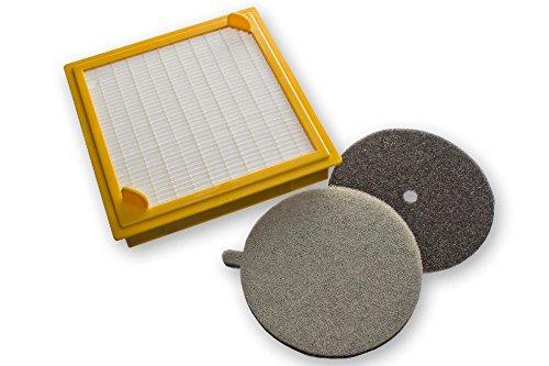 Preisvergleich Produktbild vhbw Hepa Filter Set für Staubsauger Hoover TS2213 001, TS2265 001, TS2266 011, TS2272 011, TS2308 001, TS2351, U27 Sensory wie 09205469.