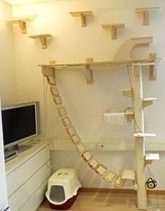 angebot f r ihre wohnung mit oder ohne aufbau f r katzen bsp hier wandlandschaft. Black Bedroom Furniture Sets. Home Design Ideas