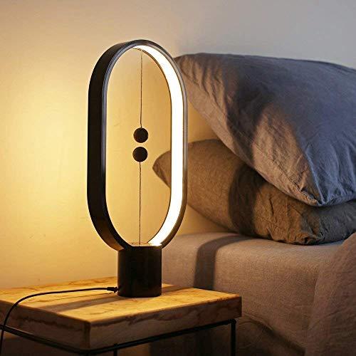 Allocacoc Heng équilibre lampe - Ellipse Flotte magnétique Interrupteur lampe LED alimenté par USB