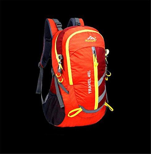 Wmshpeds Outdoor sports backpacker arrampicata in montagna borsa campeggio maschio escursionismo borsa zaino alpinismo C