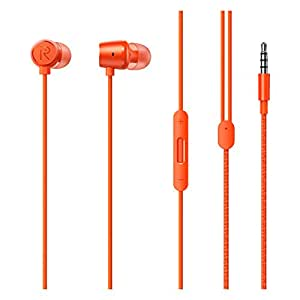 Realme Buds 2 with Mic for Android Smartphones (Orange)