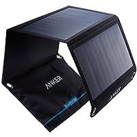 Anker PowerPort Solar Ladegerät 21W 2-Port, USB Solarladegerät für iPhone 7 / 7s / 6s / 6, iPad Air 2 / Mini 3, Galaxy…