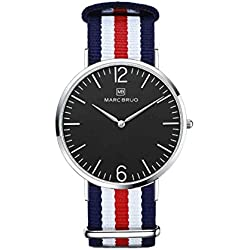 Marc Brüg Ladies' Minimalist Watch St. Tropez 36 Black