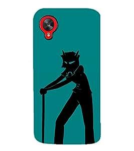 EPICCASE Devil boy Mobile Back Case Cover For LG Google Nexus 5 (Designer Case)