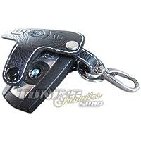 Schlüsseltasche Schlüsseletui Klappschlüssel Schlüssel LEDER Rot #1 für BMW