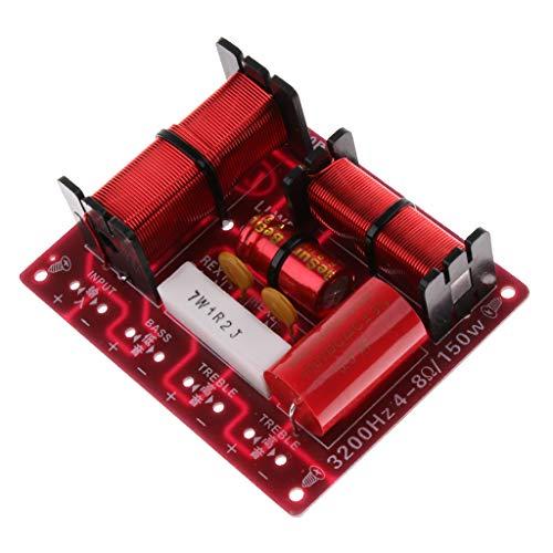 perfk Diviseur de Fr/équence Aigu Grave Audio Haut-parleurs Filtres 180w /à 3 Voies en Consommation dEnergie Inf/érieure