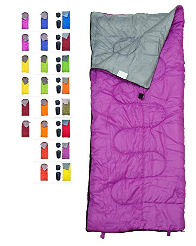 ltraleicht und kompakt, ideal für Wandern, Rucksackreisen und Camping für Kinder, Jungen, Mädchen, Teenager und Erwachsene, für drinnen und draußen, Violett ()