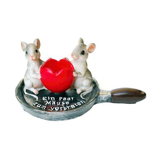 """Geldgeschenk, Spardose """"Ein Paar Mäuse zum verbraten"""""""