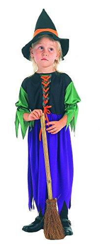 Kostüm Hexe lila Größe von 6bis 8Jahren (Hexe Lila Kostüm)