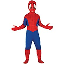 Guirca - Disfraz de Spiderman, talla 3-4 años, color rojo (83166)