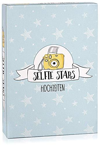 Hochzeitsspiel: Selfie Stars Hochzeiten - Kreative und lustige Fotoaufgaben - Tolles Spiel für Gäste oder Geschenkidee für das Brautpaar